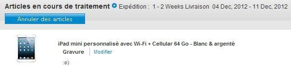 iPad mini Order Status Mac4Ever