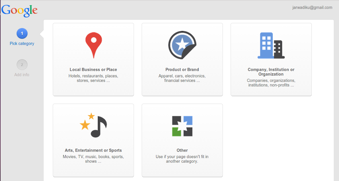 Where to start Google+ Page
