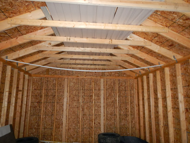 Sagging Ceiling Joists Strongback Shelly Lighting