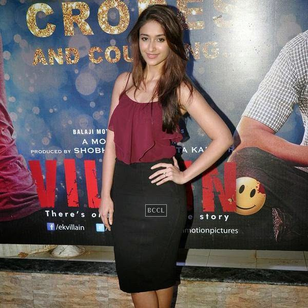 Ileana D'Cruz at the success party of Bollywood movie 'Ek Villain', held at Ekta Kapoor's residence on July 15, 2014.(Pic: Viral Bhayani)