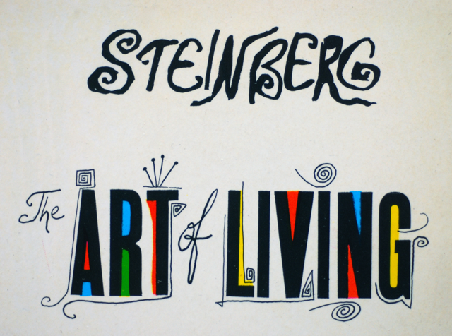 The Line Art And Living : Letterology the art of living
