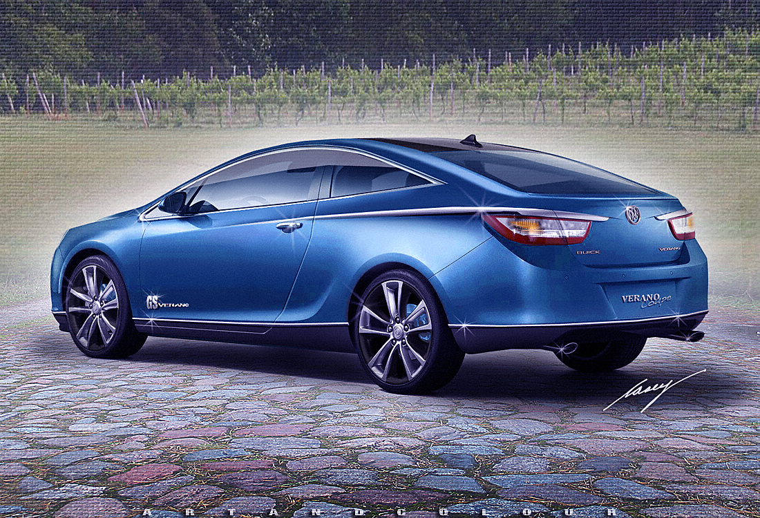 Casey artandcolour cars february 2012 - Wouldn T You Really Rather Have A Buick