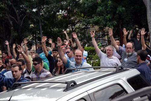 Campanha Salarial Procergs 2012 - Assembleia dos Trabalhadores