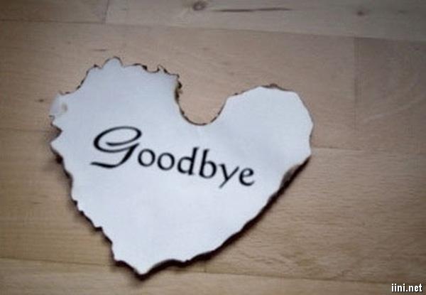 thơ tạm biệt tình yêu