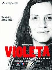 pelicula Violeta se fue a los cielos
