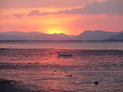 Coucher de soleil à l'Isla de Chira (2)