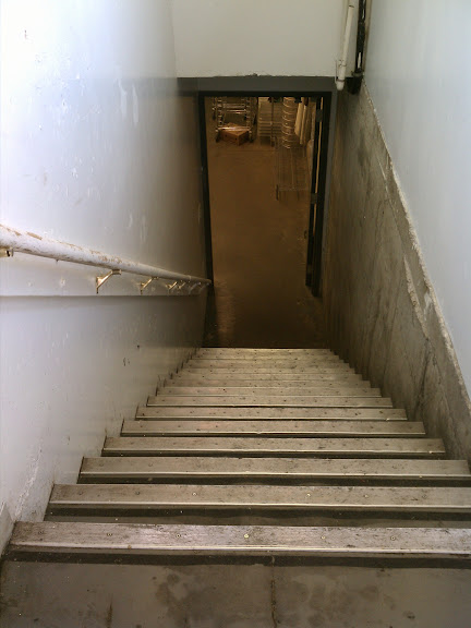Nick's basement stairs