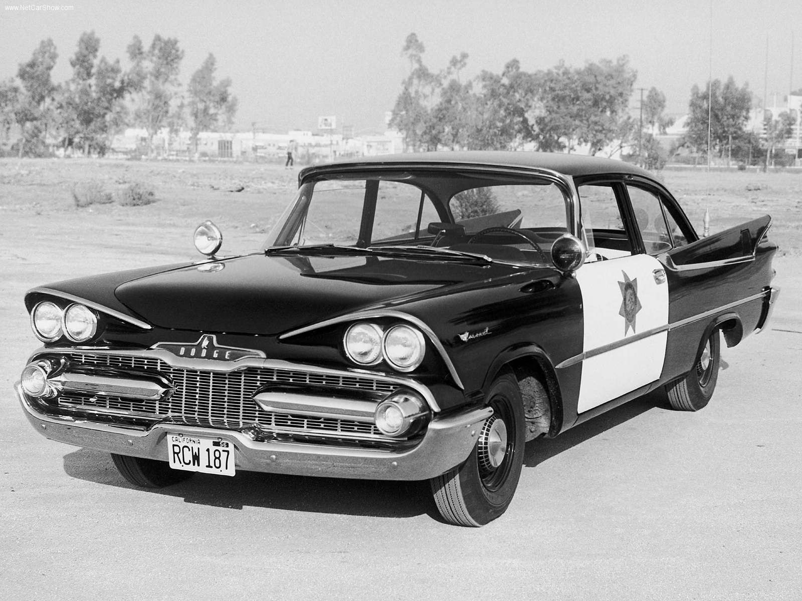Transpress Nz 1959 Dodge Coronet 1949 2 Door A Police Model Here In The Livery Of California Highway Patrol