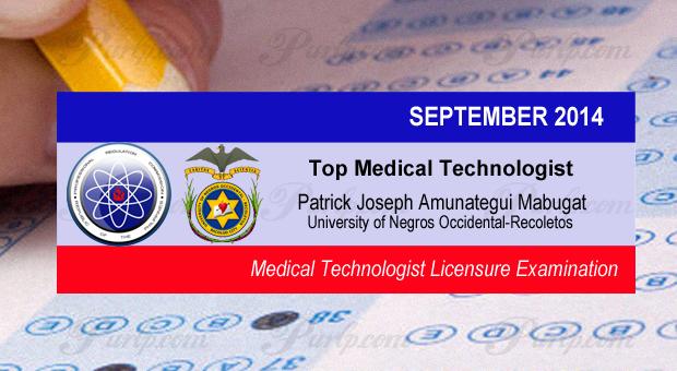 UNO-R grad PATRICK Joseph Mabugat Tops MedTech board exam