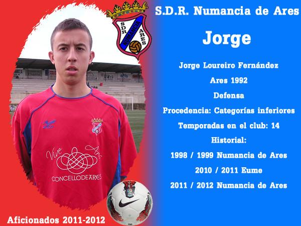 A.D.R. Numanciad de Ares. Jorge.