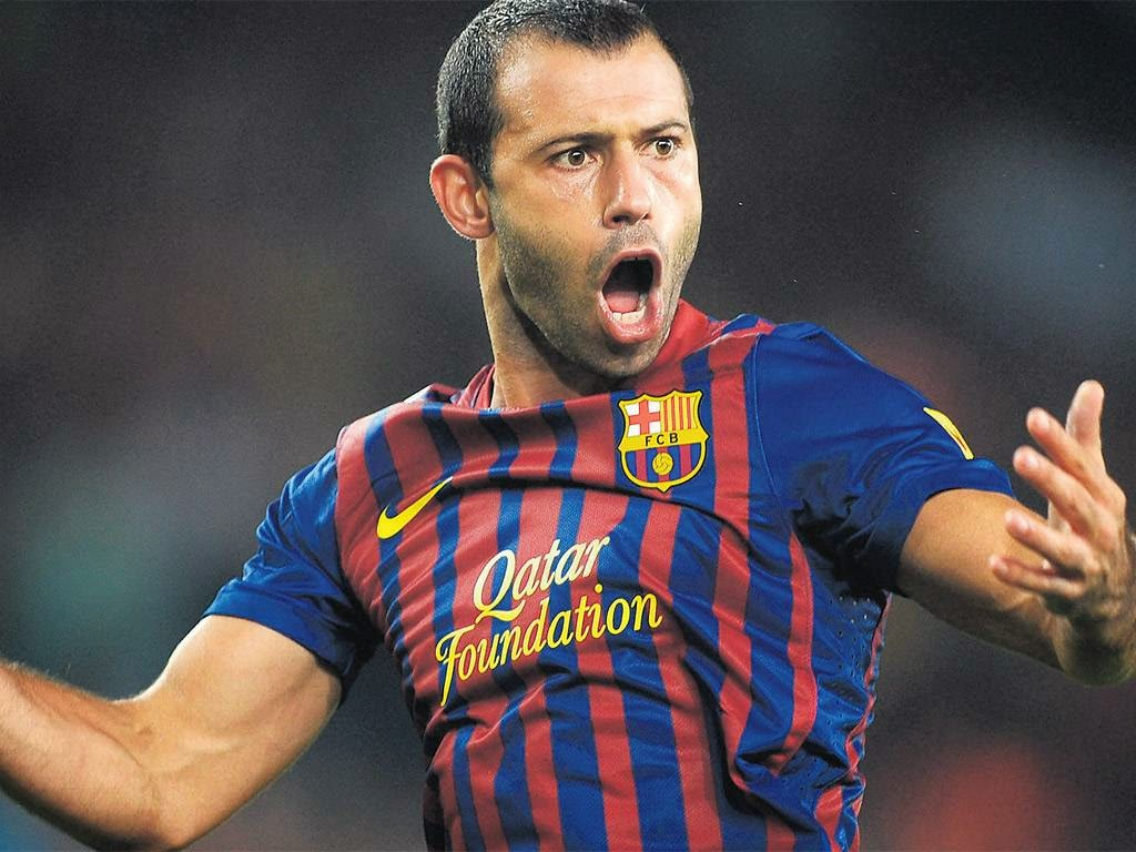 Download Javier Mascherano Wallpapers in HD For Desktop or Gad