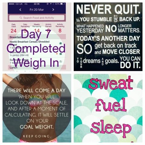 Weight Watchers Weigh In Week 1