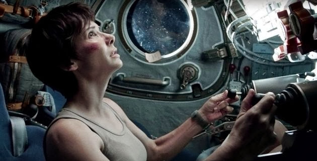 Sandra Bullock in the Movie Gravity