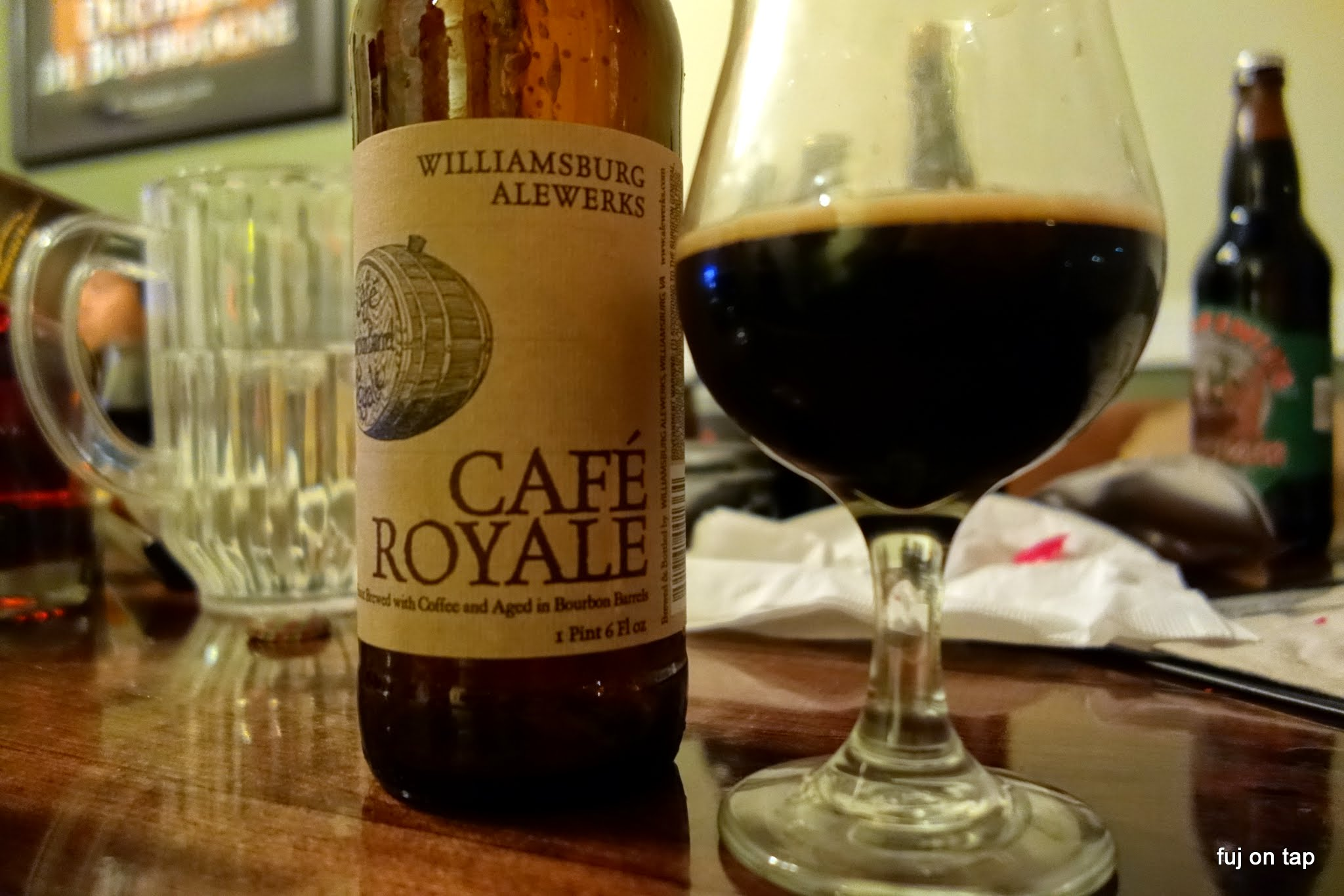 Williamsburg Aleworks Cafe Royale