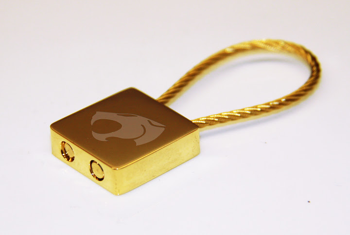 Thundercats Gold Plated Keychain