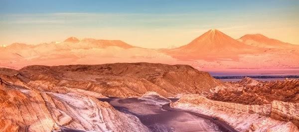 Férias no Deserto de Atacama no Chile