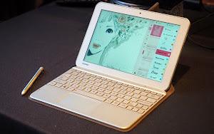Tablet Toshiba đi kèm bút cảm ứng Wacom