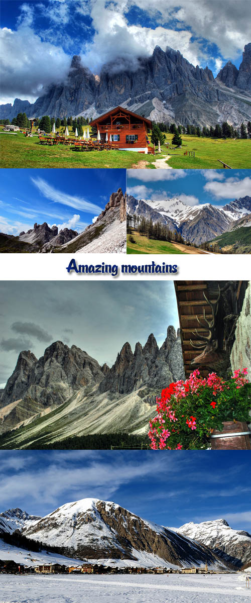 Stock Photo: Amazing mountains