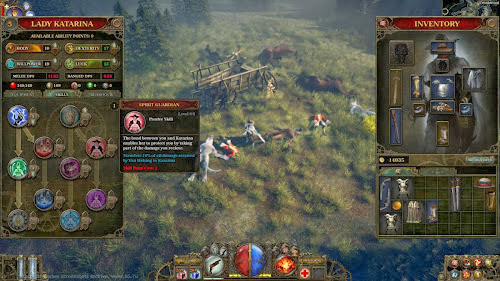 Screen Shot Of The Incredible Adventures of Van Helsing (2013) Full PC Game Free Download at Alldownloads4u.Com