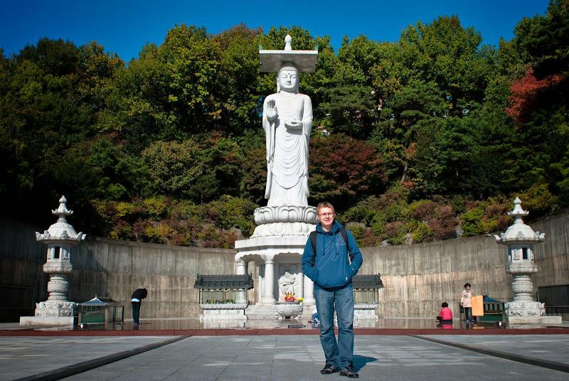 Korea, Seoul, Bongeunsa temple