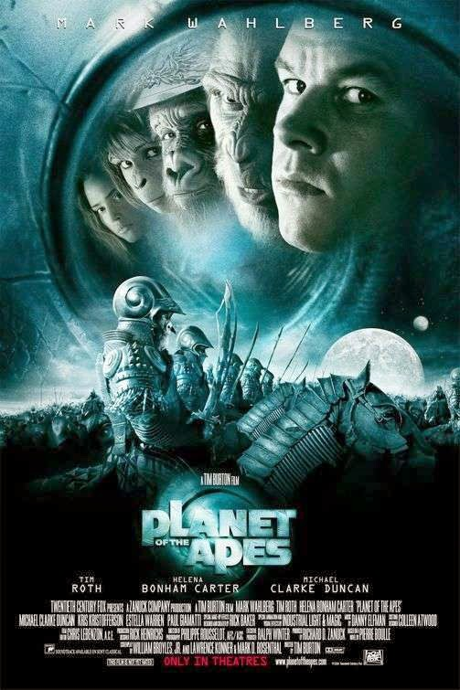 Poster Of Planet of the Apes (2001) Full Movie Hindi Dubbed Free Download Watch Online At alldownloads4u.com