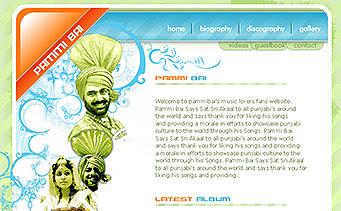 Pammi bai Punjabi Singer Website