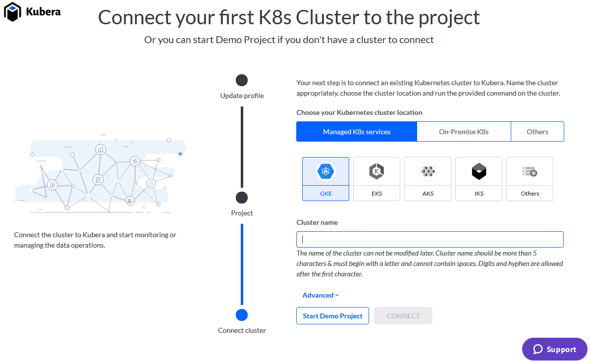 Kubera: Connect your Kubernetes cluster