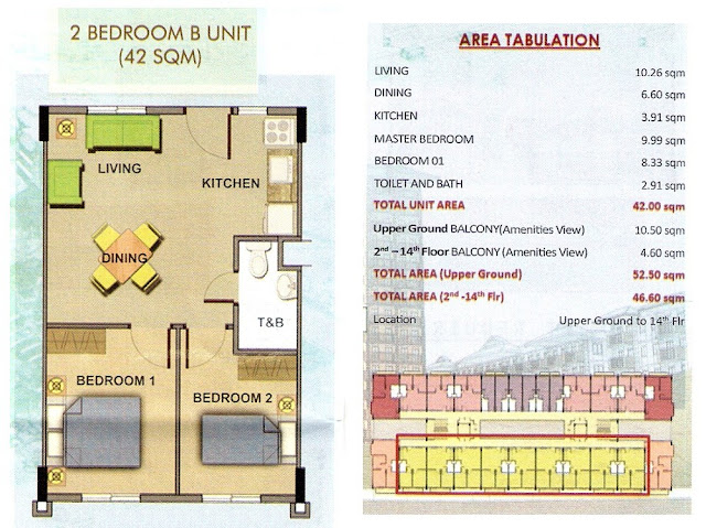 Camella Northpoint - Liverpool 2 Bedroom B