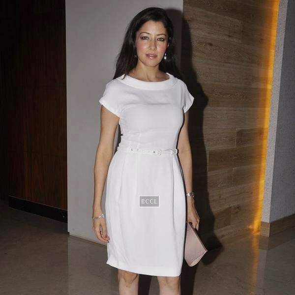 Aditi Gowitrikar during the Aqbab club launch at Lower Parel, Mumbai. (Pic: Viral Bhayani)