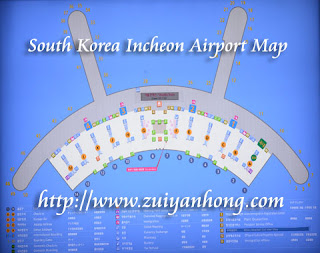 Incheon Airport Map