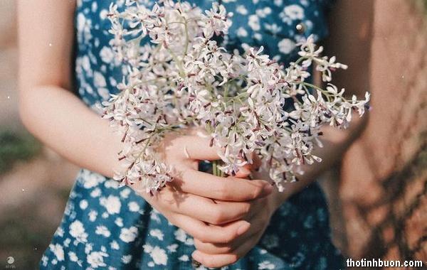 thơ tình buồn hoa xoan tháng 3
