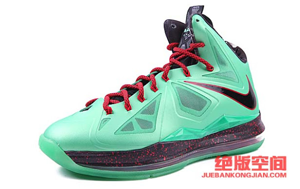 LeBron X China Jade Early Release LBJ10 Signature Box Preview