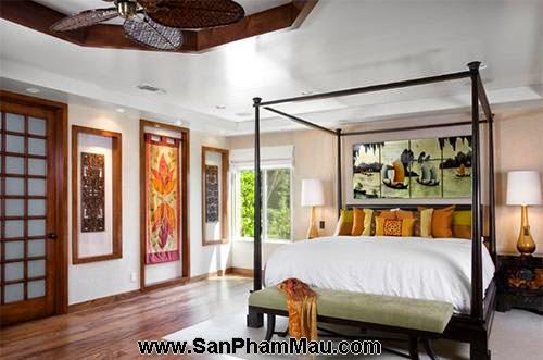Phòng ngủ kiểu châu Á-12