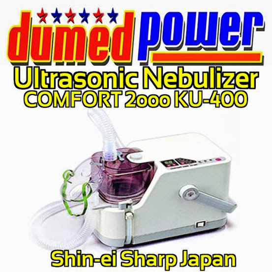 Ultrasonic+Nebulizer+Comfort+2000+KU-400+Shin-ei+Sharp+Japan