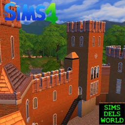 sims4 medieval castle