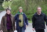 Prominente grüne Begleitung (v.l.n.r): Manuela Grochowiak-Schmieding (Kandidatin NRW-Wahl 2012), Ute Koczy (MdB), Oliver Krischer (MdB)