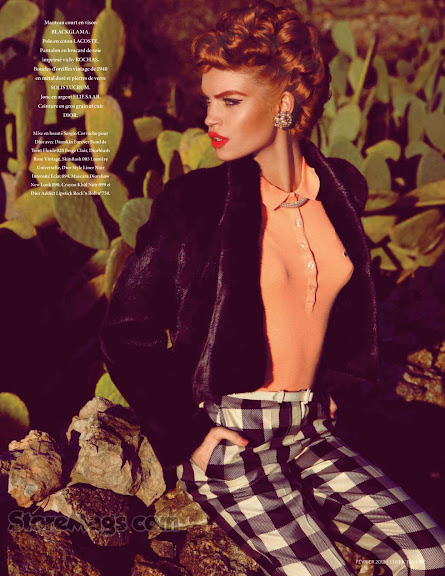 Luisa Bianchin-Riviera Revival-L'Officiel 02-2012