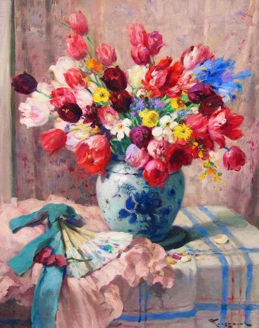 Fernand Toussaint - Tulips