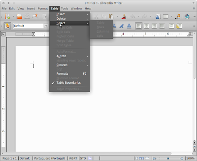 LibreOffice Writer with native look-and-feel