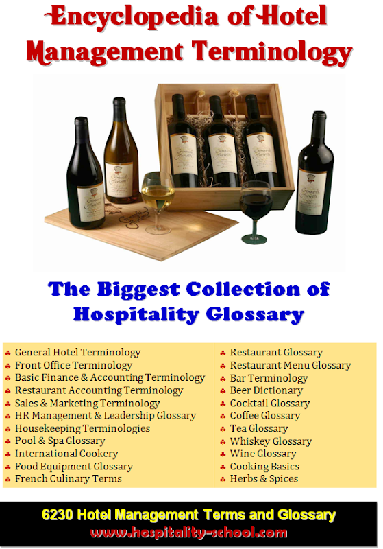 Encyclopedia of Hotel Management Terminology-Ebook