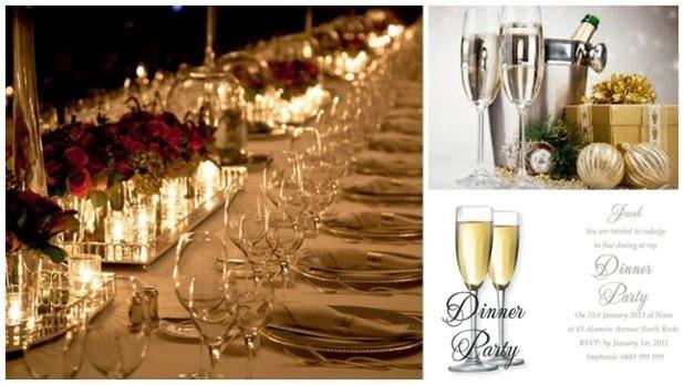 Corporate Dinner Party Invites Impressivre Invitations
