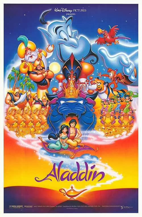 Poster Of Aladdin (1992) Full Movie Hindi Dubbed Free Download Watch Online At Alldownloads4u.Com