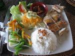 Padangbai: barracuda grillé!
