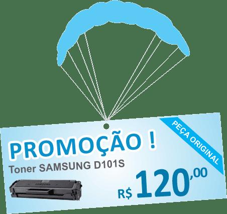 TONER PRETO SAMSUNG MLT- D101S