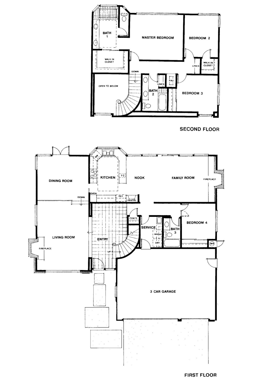 mid century modern and s era ottawa favourite plans south around 1978 the california builder lusk constructed a community of homes in orange country called nohl ranch below is the bennington plan by lusk