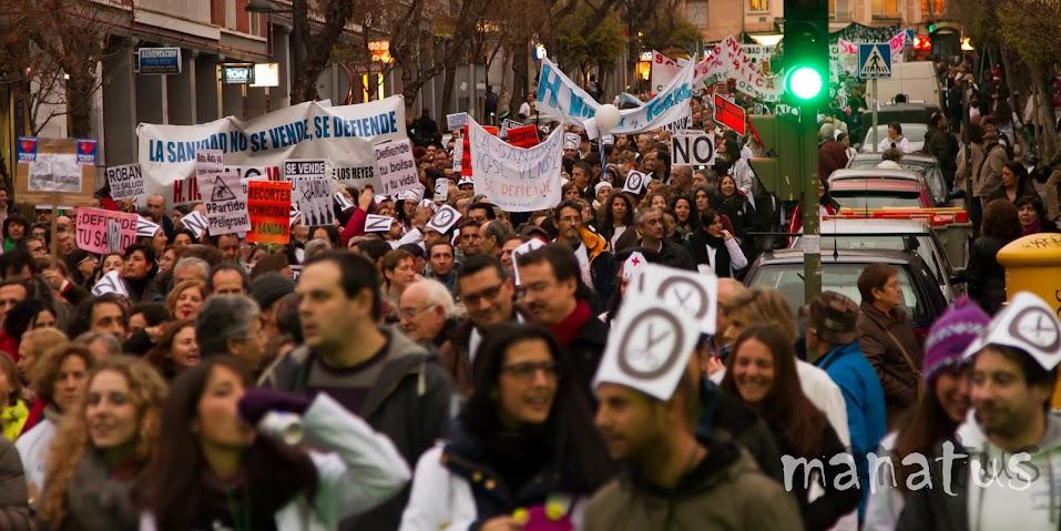 manatus foto blog Marea Blanca - Diciembre 2012