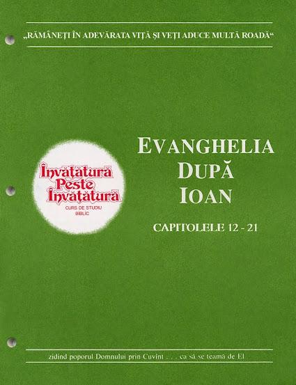 Evanghelia după Ioan partea II