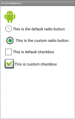 Custom Radio Button