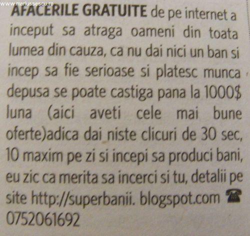 lumea de a face bani pe internet)