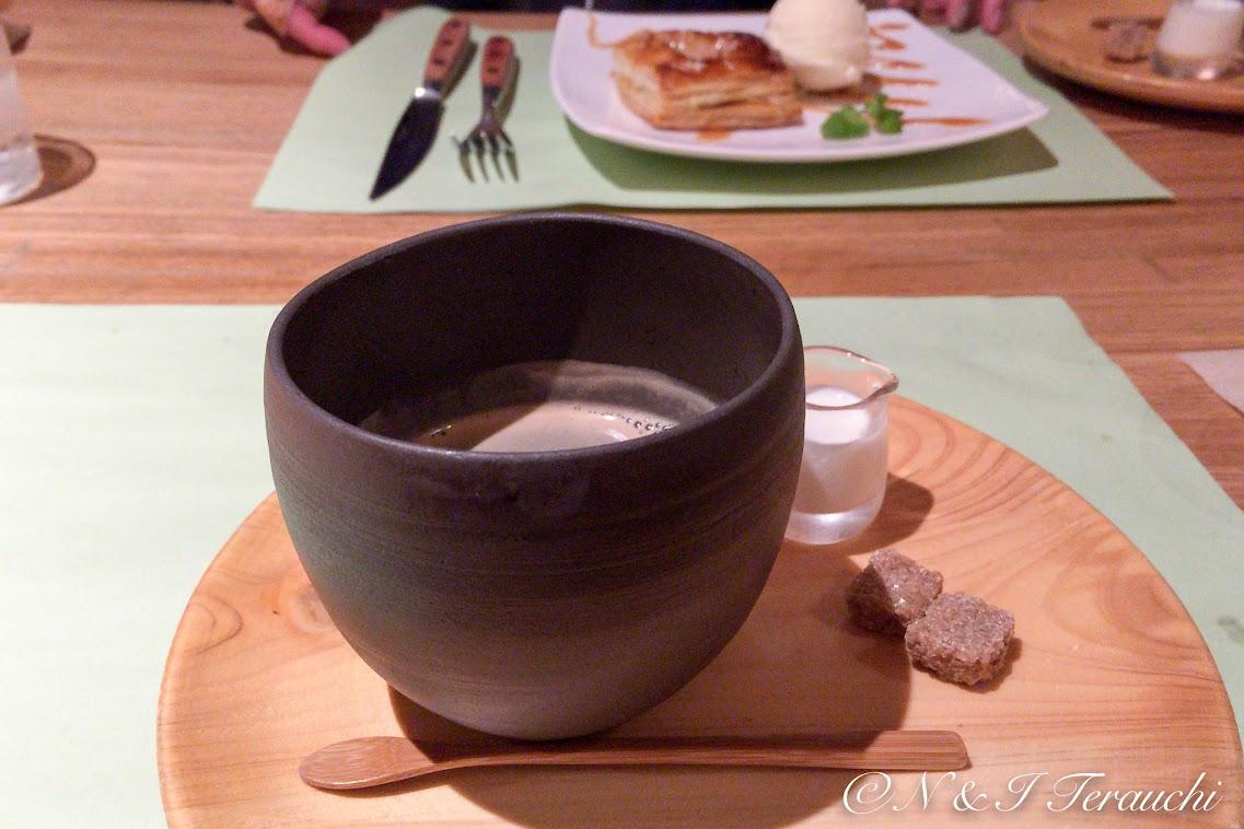 コーヒーもオシャレ ♪